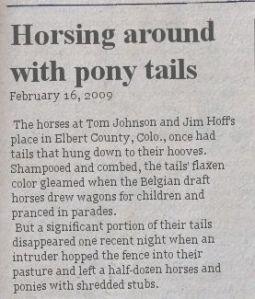 horsing-around