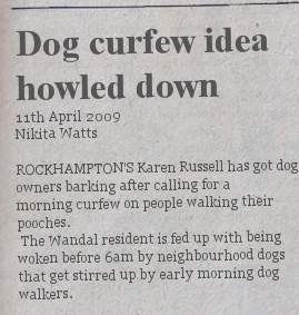 howled-down