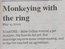 monkeying